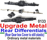 Wltoys 12428 Upgrade Metal Rear Differentials (Ordinary metal materials)