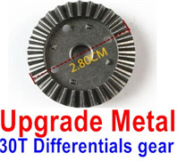 Wltoys 12428 Upgrade Parts Metal 30T Differentials gear, 12428-0011.