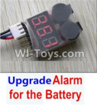 Wltoys 12428 Upgrade Parts Alarm for the Battery,it Can test whether your battery has enouth power.