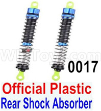 Wltoys 12428 Rear Shock Absorber(2pcs) Parts-Official, 12428-0017