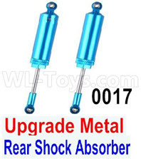 Wltoys 12428 Upgrade Parts Metal Rear Shock Absorber,2pcs, 12428-0017.