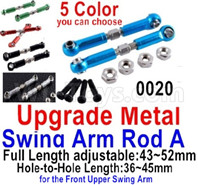 Wltoys 12428 Upgrade Parts Metal Swing arm Rod A,2pcs, 12428-0020.