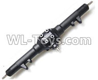 Wltoys 12429 Parts-0003-02 12429.1144 Official Whole Rear Gear box Assembly(Include the left and Right cover,Rear differential unit),Wltoys 12429 1/12 RC Car Parts