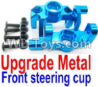 Wltoys 12429 Parts-0005-02 Upgade Metal Front steering cup,Left and Right Universal joint(2pcs),Wltoys 12429 1/12 RC Car Parts