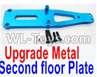 Wltoys 12429 Parts-0008-02 Upgrade Metal Upper Plate,Second floor Plate,Wltoys 12429 1/12 RC Car Parts