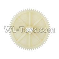 Wltoys 12429 Parts-0015 62T Reduction gear,Wltoys 12429 1/12 RC Car Parts