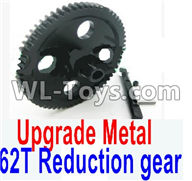 Wltoys 12429 Parts-0015-02 Upgrade Metal 62T Reduction gear,Wltoys 12429 1/12 RC Car Parts