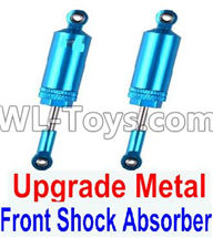 Wltoys 12429 Parts-0016-02 Upgrade Metal Front Shock Absorber(2pcs),Wltoys 12429 1/12 RC Car Parts