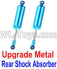 Wltoys 12429 Parts-0017-02 Upgrade Metal Rear Shock Absorber(2pcs),Wltoys 12429 1/12 RC Car Parts