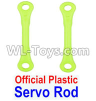 Wltoys 12429 Parts-0018-01 Official Plastic Servo Rod(2pcs),Wltoys 12429 1/12 RC Car Parts