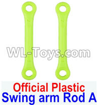 Wltoys 12429 Parts-0020-01 12429.1171 Official Plastic Swing arm Rod A,Front shock absorber lever(2pcs),Wltoys 12429 1/12 RC Car Parts