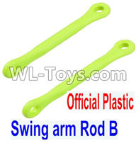 Wltoys 12429 Parts-0021-01 12429.1172 Official Plastic Swing arm Rod B(2pcs),Wltoys 12429 1/12 RC Car Parts