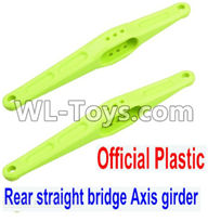 Wltoys 12429 Parts-0023-01 Official Plastic Rear straight bridge Axis girder for the Rear Swing Arm(2pcs),Wltoys 12429 1/12 RC Car Parts
