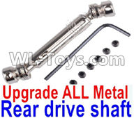 Wltoys 12429 Parts-0025-02 0024 -0025 Upgrade Metal Rear drive shaft assembly-Silver,Wltoys 12429 1/12 RC Car Parts