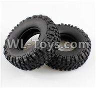 Wltoys 12429 Parts-0045-04 K949-02 Tire lether(2pcs),Wltoys 12429 1/12 RC Car Parts