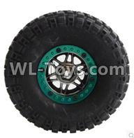 Wltoys 12429 Parts-0046-01 Whole wheel unit(1pcs),Wltoys 12429 1/12 RC Car Parts