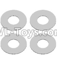 Wltoys 12429 Parts-0066 Flat washers(4PCS)-12X5.2X0.2mm,Wltoys 12429 1/12 RC Car Parts