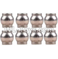 Wltoys 12429 Parts-0075 Ball head C(M4.8x5)-8pcs,Wltoys 12429 1/12 RC Car Parts