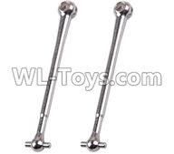 Wltoys 12429 Parts-0080 Universal drive shaft(2pcs-7.4X60),Wltoys 12429 1/12 RC Car Parts