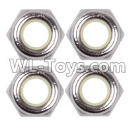 Wltoys 12429 Parts-0118 M2.5 Anti loose nut(4PCS),Wltoys 12429 1/12 RC Car Parts