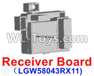 Wltoys 12429 Parts-0120-01 12429.1151 Official Receiver board,Circuit board,Wltoys 12429 1/12 RC Car Parts