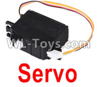 Wltoys 12429 Parts-0120-02 L303-24 Servo,Wltoys 12429 1/12 RC Car Parts