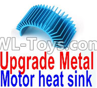 Wltoys 12429 Parts-0121-02 Upgrade Metal Motor heat sink,Wltoys 12429 1/12 RC Car Parts