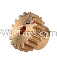 Wltoys 12429 Parts-0121-03 12428.0088 17T Motor Gear(15.2X10MM),Wltoys 12429 1/12 RC Car Parts