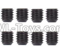 Wltoys 12429 Parts-0121-05 0098 M3 Machine Screws(8PCS)-M3X3,Wltoys 12429 1/12 RC Car Parts