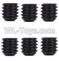 Wltoys 12429 Parts-0121-06 0128 M4 Machine screws(M4X4)-5pcs,Wltoys 12429 1/12 RC Car Parts