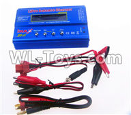 Wltoys 12429 Parts-0124-09 Upgrade B6 Balance charger(Can charger 2S 7.4v or 3S 11.1V Battery),Wltoys 12429 1/12 RC Car Parts