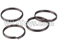 Wltoys 12429 Parts-0127 Cup spring(4pcs)-11.2X0.6(4pcs),Wltoys 12429 1/12 RC Car Parts