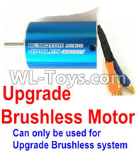 Wltoys 12429 Parts-0127-02 Upgrade Brushless motorr(2838 motor,3800kv)-Can only be used for Upgrade Brushless set,Wltoys 12429 1/12 RC Car Parts