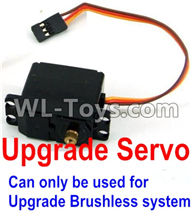 Wltoys 12429 Parts-0127-06 Upgrade Servo(Can only be used for Upgrade Brushless set),Wltoys 12429 1/12 RC Car Parts