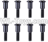 Wltoys 12429 Parts-0140-03 12428.0099 Cross step lower half tooth screw(8PCS)-M3X14,Wltoys 12429 1/12 RC Car Parts