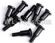 Wltoys 12429 Parts-0140-04 12428.0359 Cross step lower half tooth screw(8PCS)-M3X12,Wltoys 12429 1/12 RC Car Parts