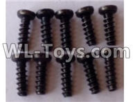 Wltoys 12429 Parts-0142-01 12429.0555 ST2.3X6PB screw assembly(10PCS),Wltoys 12429 1/12 RC Car Parts