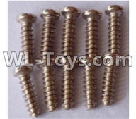 Wltoys 12429 Parts-0142-02 12429.0556 ST2.3X8PB screw assembly(10PCS),Wltoys 12429 1/12 RC Car Parts
