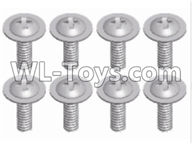 Wltoys 12429 Parts-0150-06 12428.0125 Phillips head with screw-2.5X8-PWM,Wltoys 12429 1/12 RC Car Parts