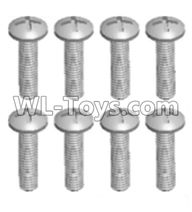 Wltoys 12429 Parts-0155-11 12428.0111 Cross recessed pan head screws(8PCS)-M2X12 PM,Wltoys 12429 1/12 RC Car Parts