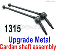 Wltoys 14401 Parts-Upgrade Metal Cardan shaft assembly(2 set)-14401.1315,Wltoys 14401 1/14 Parts,Wltoys 14401 RC Car Parts