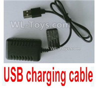 Wltoys 14401 Parts-USB Charger and Balance charger-7.4V 2000mA USB Charger-USB-1.1374,Wltoys 14401 1/14 Parts,Wltoys 14401 RC Car Parts