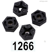 Wltoys 14401 Parts-Hex wheel seat assembly(4pcs)-14401.1266,Wltoys 14401 1/14 Parts,Wltoys 14401 RC Car Parts