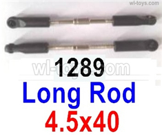 Wltoys 14401 Parts-Long rod assembly(2pcs)-4.5x40-14401.1289,Wltoys 14401 1/14 Parts,Wltoys 14401 RC Car Parts