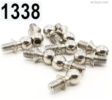 Wltoys 14401 Parts-Ball head screws-10pcs-4.9X10.6mm-14401.1338,Wltoys 14401 1/14 Parts,Wltoys 14401 RC Car Parts