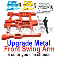 Wltoys 14401 Parts-Upgrade Front Metal Swing Arm-4 Color you can choose,Wltoys 14401 1/14 Parts,Wltoys 14401 RC Car Parts