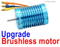 Wltoys 144001 Upgrade Brushless Motor. Harder and more wear-resistant.