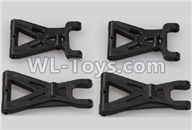 Wltoys 18401 Front and Rear Swing arm,Suspension Arm(Total 4pcs)-A959-02,Wltoys 18401 RC Crawler Car Spare Parts Replacement Accessories,1:18 18401 6wd rc rock racing car Parts,On Road Drift Racing Truck Car Parts