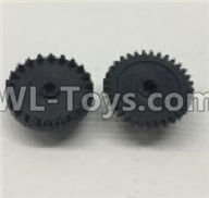 Wltoys 18401 The first and The second level gear(Total 2pcs)-0905,Wltoys 18401 RC Crawler Car Spare Parts Replacement Accessories,1:18 18401 6wd rc rock racing car Parts,On Road Drift Racing Truck Car Parts