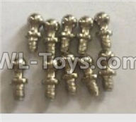 Wltoys 18401 Ball head screws(4X9.4)-10pcs-K929-14,Wltoys 18401 RC Crawler Car Spare Parts Replacement Accessories,1:18 18401 6wd rc rock racing car Parts,On Road Drift Racing Truck Car Parts